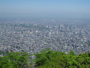 札幌市内を一望.JPG